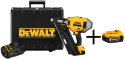Dewalt Cordless Framing Nailer Kit with Bonus Battery