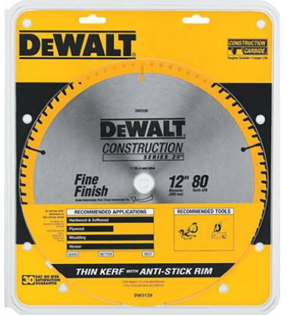 Dewalt DW3128 Miter Saw Blade