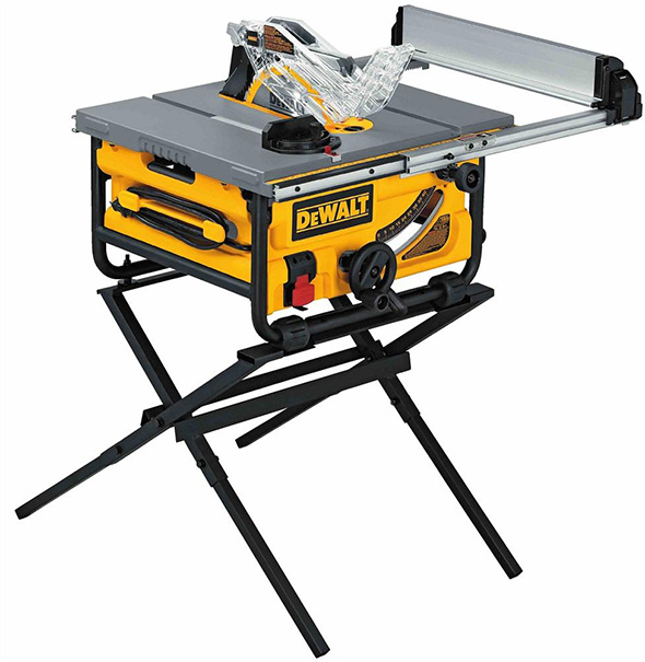 Dewalt DW745S Portable Table Saw with Stand