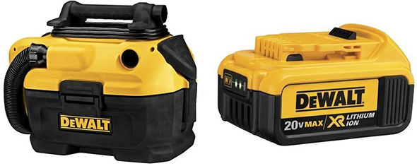Dewalt Hybrid Cordless Vac with Bonus Battery