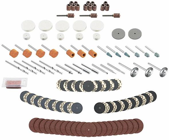 Dremel Rotary Tool Accessory Organizer Bundle Bit Assortment