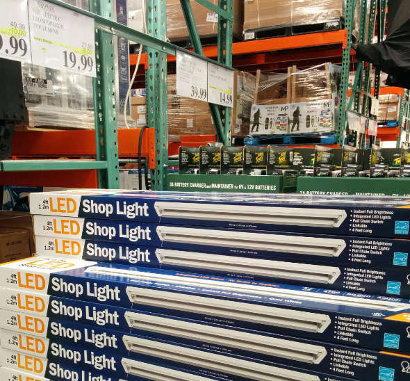 Feit LED 3700 Lumen Shop lights at Costco