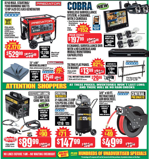 Harbor Freight Black Friday 2017 Tool Deals Updated Page 2