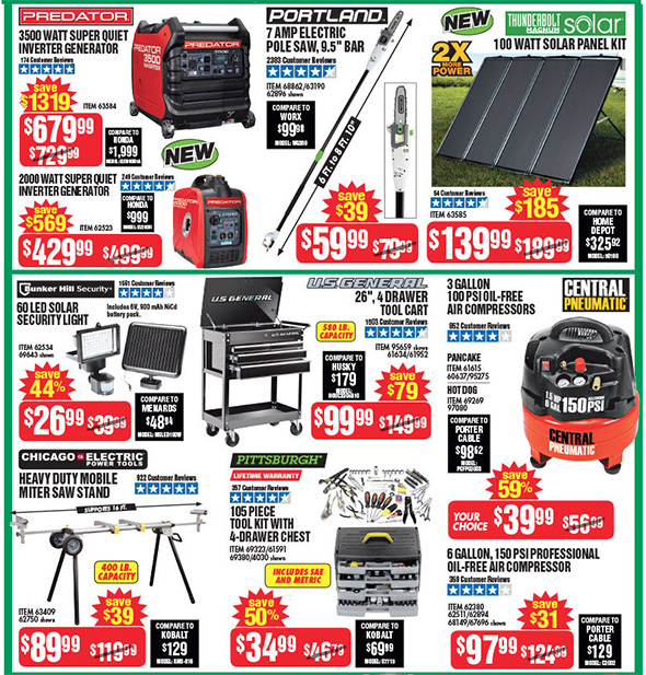 Harbor Freight Black Friday 2017 Tool Deals Updated Page 3