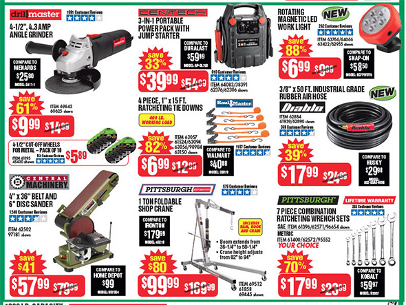 Harbor Freight Black Friday 2017 Tool Deals Updated Page 4