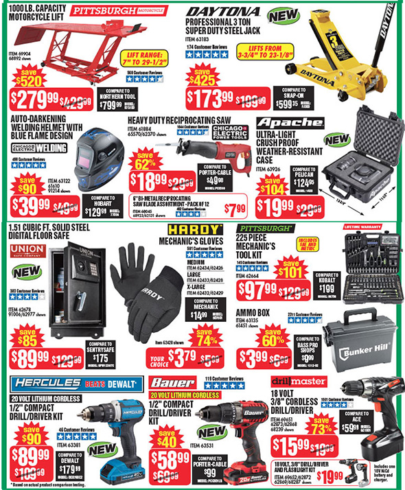 Harbor Freight Black Friday 2017 Tool Deals Updated Page 5