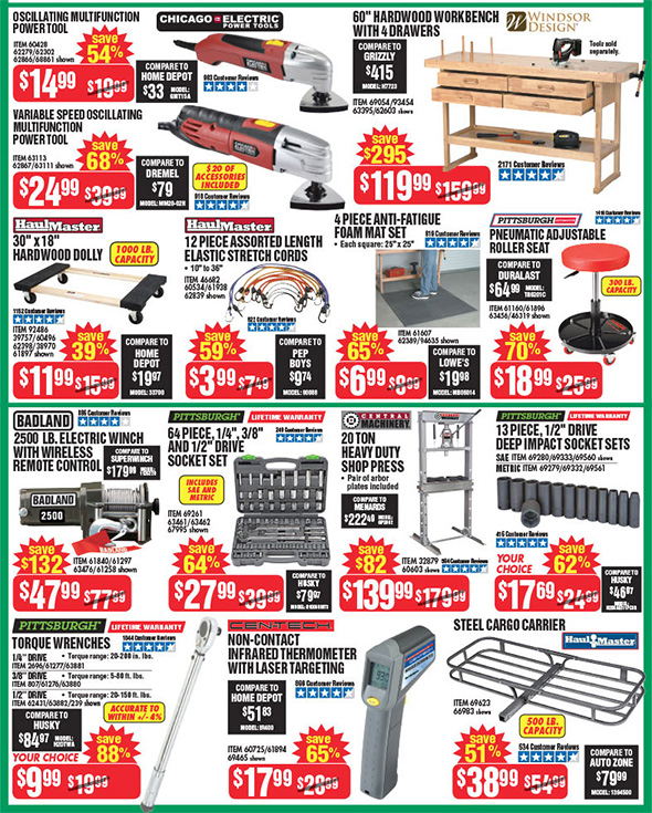 Harbor Freight Black Friday 2017 Tool Deals Updated Page 7