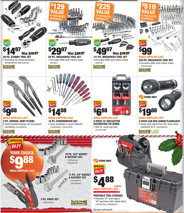 Home Depot Black Friday 2017 Tool Deals Ad Page 12