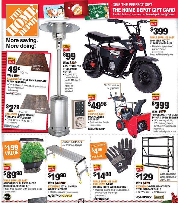 Home Depot Black Friday 2017 Tool Deals Ad Page 15