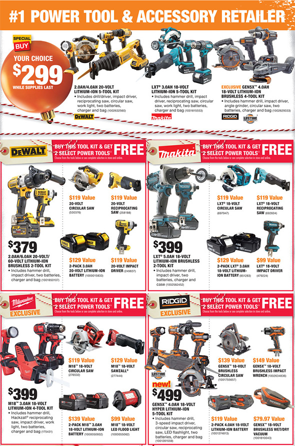 home depot black friday 2017 tool deals