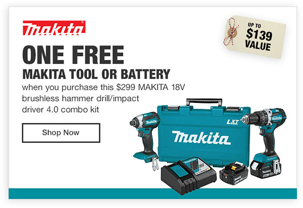 Home depot power tool coupons