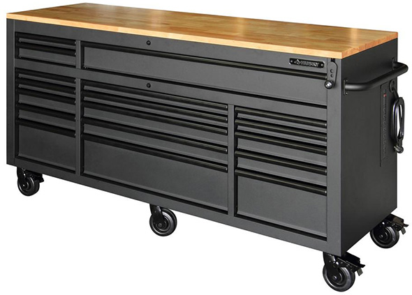 Husky 72-inch Adjustable Height Mobile Workbench