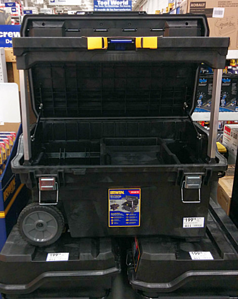 IRWIN Mobile Command Center Wheeled Tool Box at Lowes