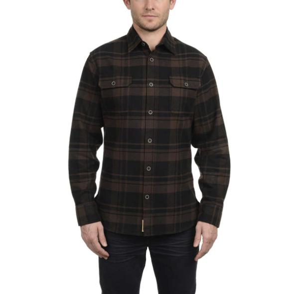 Jachs Mens Brawney Flannel shirts