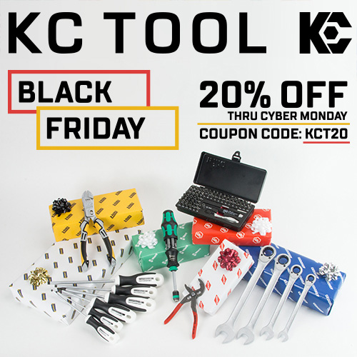 KC Tool Black Friday 2017 Deal
