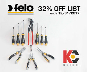 KC Tool Black Friday 2017 Felo Tools Deal