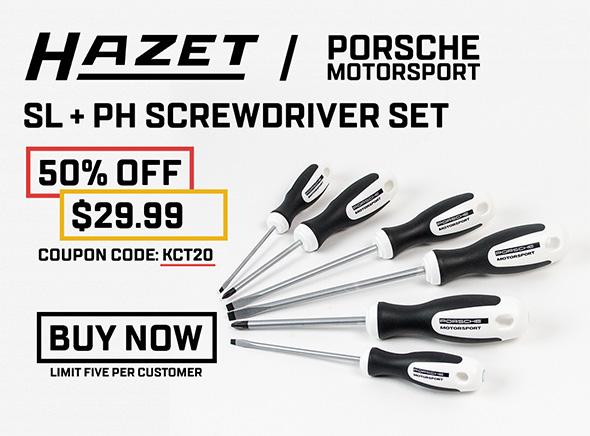 KC Tool Hazet Screwdriver Set Deal