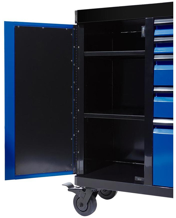 Kobalt 3000 series 45-inch Black and Blue Tool Cabinet Door