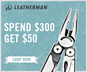 Leatherman Black Friday 2017 Gift Card Offer