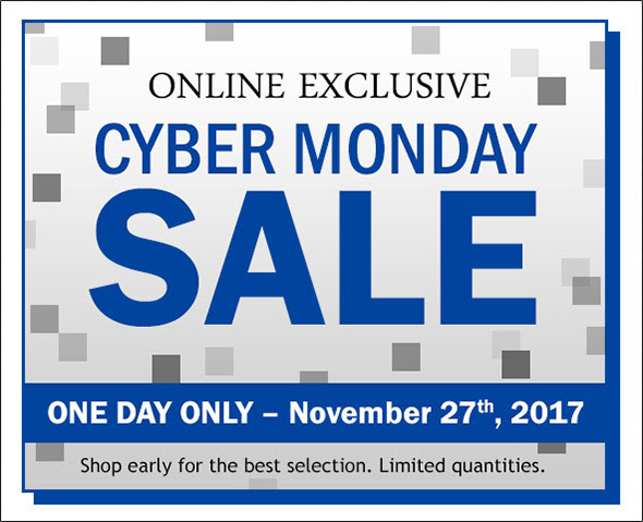 Lee Valley Cyber Monday 2017
