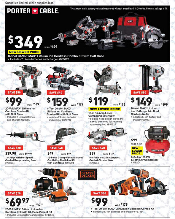 Lowes Black Friday 2017 Tool Deals Page 13