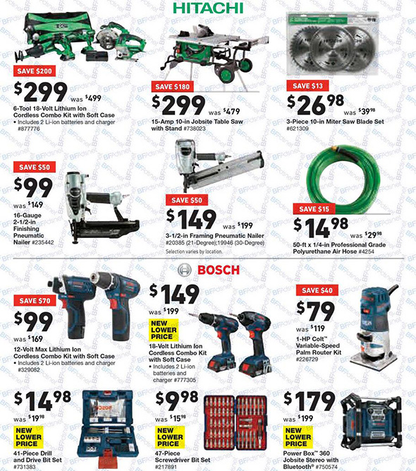 Lowes Black Friday 2017 Tool Deals Page 14