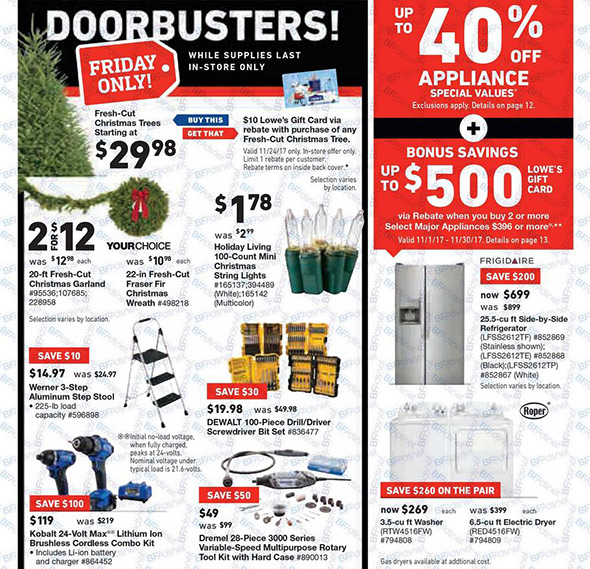 Lowes Black Friday 2017 Tool Deals Page 2