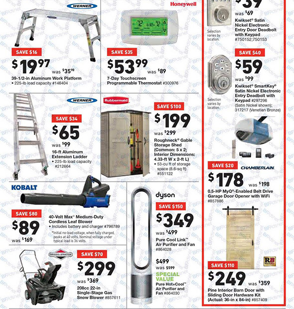 Lowes Black Friday 2017 Tool Deals Page 4