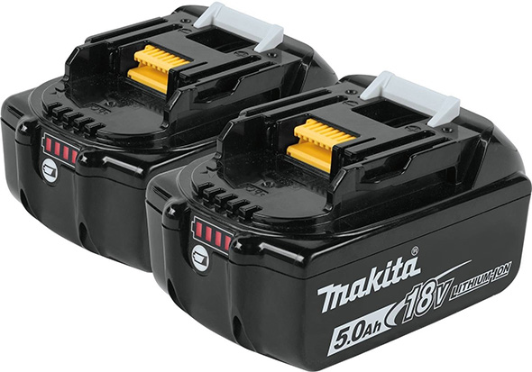 Makita 18V 5Ah Battery 2-Pack