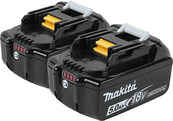 Makita 18V 5Ah Battery 2-Pack