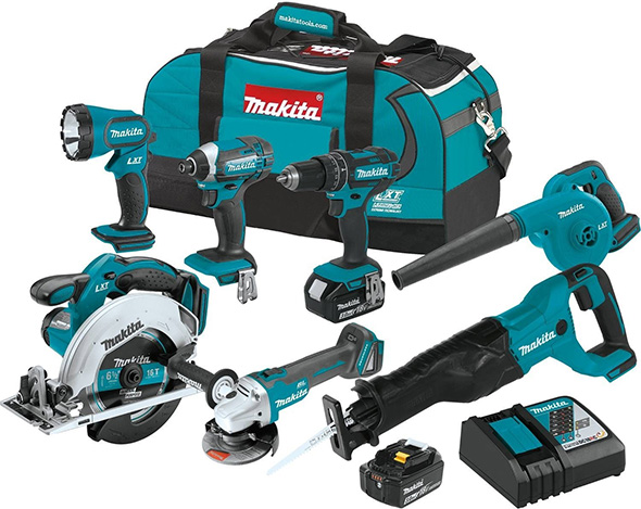 Makita XT706 Cordless Combo Kit