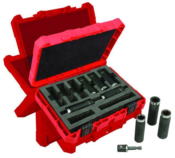 Milwaukee 1-2 Shockwave Impact Socket Set