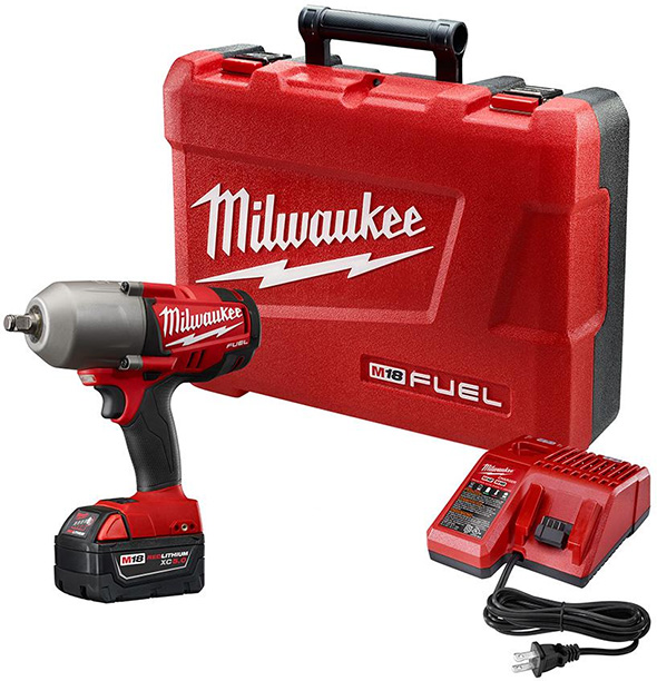 Milwaukee 2763-21XC M18 Fuel High Torque Impact Wrench Kit