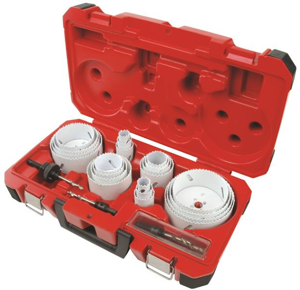 Milwaukee 28pc Hole Dozer Hole Saw Set