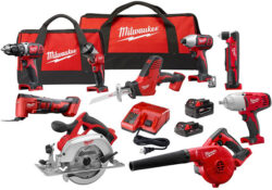 Deal of the Day: Milwaukee M18 Cordless Power Tool Combo Kits & High Torque Impact! (11/29/17)