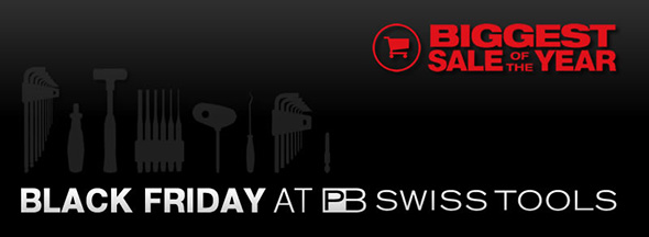 PB Swiss Tools Black Friday 2017 Banner