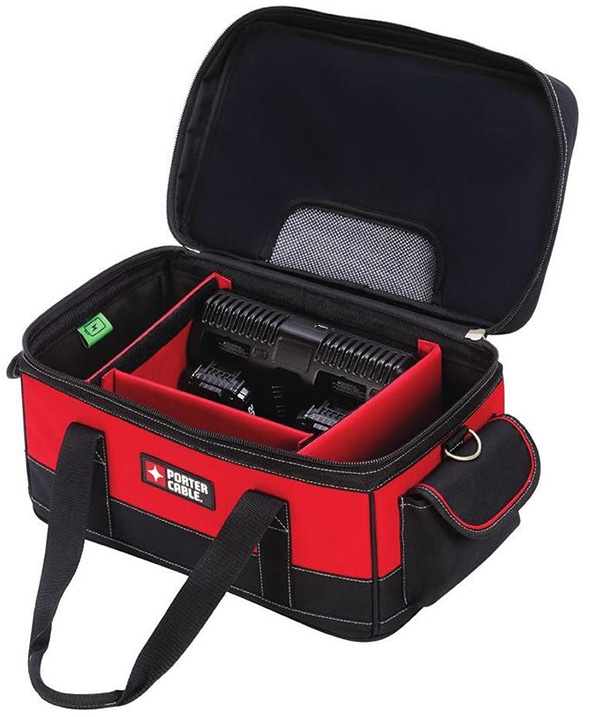 Porter Cable 20V Max Battery Charging Bag