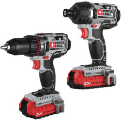 Porter Cable PCCK602L2 Drill and Impact Driver Combo Kit