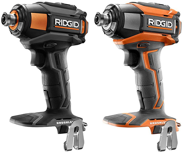 Ridgid 18V Gen5X Brushless Power Tool Combo Kit Color Scheme