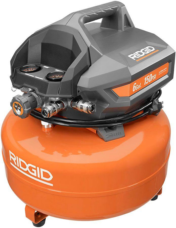 Ridgid OF60150HA 6 gallon Pancake Air Compressor