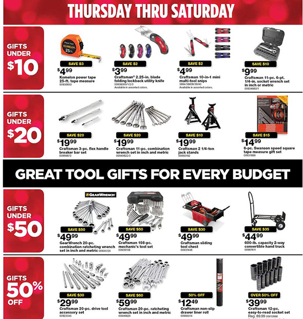 Sears Black Friday 2017 Tool Deals Page 10