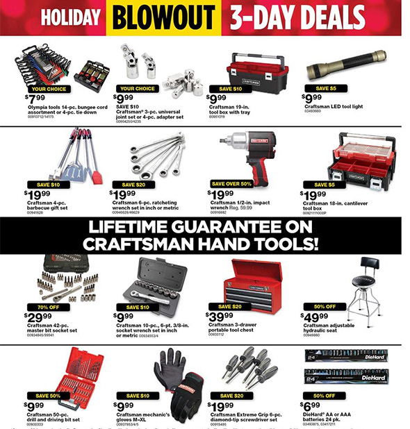 Sears Black Friday 2017 Tool Deals Page 11