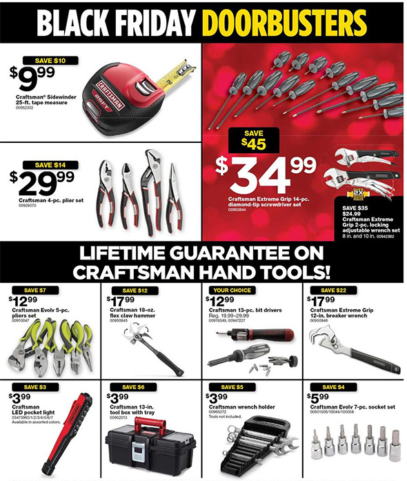 Sears Black Friday 2017 Tool Deals Page 5