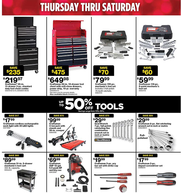 Sears Black Friday 2017 Tool Deals Page 8