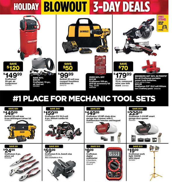 Sears Black Friday 2017 Tool Deals Page 9