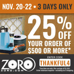 Zoro Pre-Black Friday 2017 Coupon