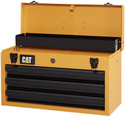 CAT 3 Drawer Metal Tool Box