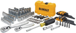 Deals: Dewalt 108pc Mechanics Tool Set for $60, 172pc for $85