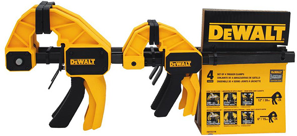 Dewalt Trigger Clamp Holiday Bundle