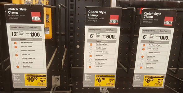 Is Home Depot Dumping Bessey Clamps If So What Will Take Their Place